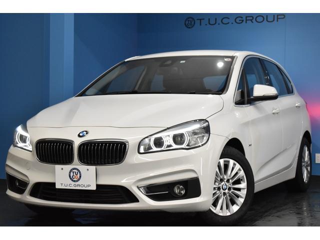 BMW 2シリーズ 218dアクティブツアラー ラグジュアリー アドバンスドアクティブセーフティP&コンフォートP ACC HUD 車線逸脱&歩行者警告 衝突軽減B LED/H ヒーター付黒革 ウッドP 電動Rゲート コンフォートA BTオーディオ 2年保証