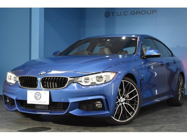 BMW 4シリーズ 435iグランクーペ Mスポーツ 追従ACC HUD アダプティブLED/H&フォグ ヒーター付白革 20インチAW 車線逸脱&歩行者警告 衝突軽減B フルセグTV Bカメラ 電動Rゲート パドルS BTオーディオ 2年保証