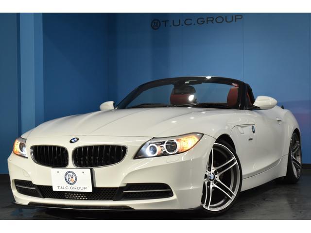 BMW sDrive20i ハイラインパッケージ 電動OP 19インチAW ヒーター付赤革 パドルシフト Largus車高調 iドライブHDDナビ フルセグTV LEDリングキセノン Mサーバー DVD再生 マルチF付ステアリング 2年保証