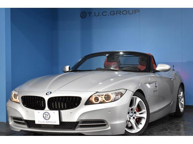 BMW sDrive35i 7速DCT 直6ターボ 電動OP ウィンドディフレクター 左H ヒーター付赤革 Bカメラ フルセグTV クルコン リングキセノン パドルS H&Rダウンサス iドライブ オートエアコン 2年保証
