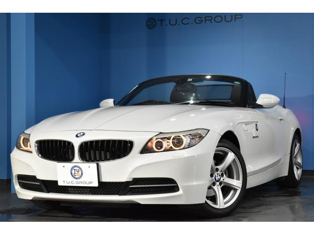 BMW Z4 sDrive20i 電動OP ヒーター付黒革 バックカメラ iドライブHDDナビ パドルシフト リング付キセノン Mサーバー CD&DVD再生 ミラー内蔵ETC ドラパフォ 17インチAW 2年保証