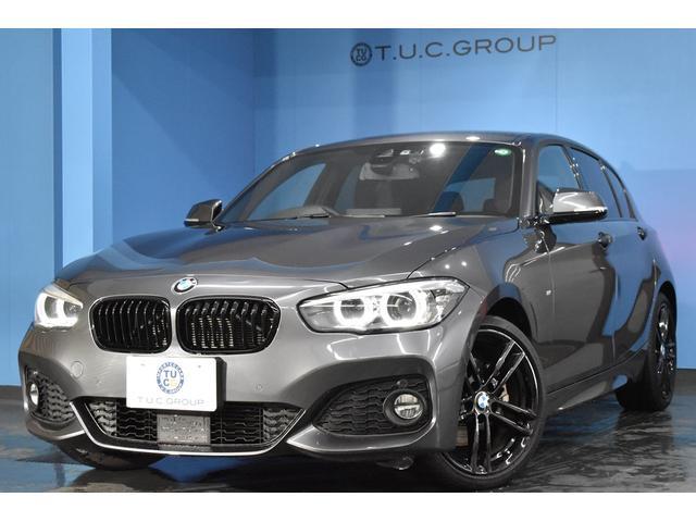 BMW 1シリーズ 118d Mスポーツ エディションシャドー 期間限定プライスにて掲載中! 新車保証付 限定車 アップグレードP 追従ACC LEDヘッドライト&テール ヒーター付電動黒革  タッチパネルナビ 衝突軽減ブレーキ 車線逸脱&歩行者警告 Pアシスト