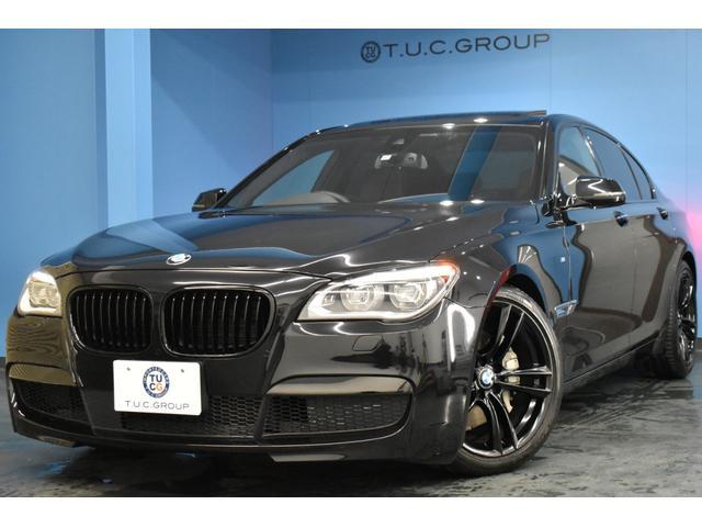 BMW 740i Mスポーツ 後期最終 サンルーフ LEDヘッドライト 追従ACC レーンチェンジウォーニング ソフトクロージャドア マルチディスプレイメーター 全席シートヒーター付黒革 20AW 衝突軽減ブレーキ 2年保証