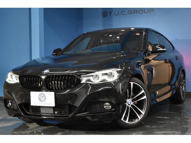 BMW 3シリーズ 320iグランツーリスモ Mスポーツ 後期 ヒーター付黒革 レーンチェンジウォーニング LED/H&テール 追従ACC 19AW 衝突軽減B 車線逸脱&歩行者警告 タッチパッド付iドライブ フルセグ バックカメラ TOPビュー 2年保証