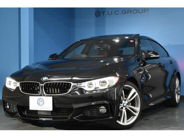 BMW 4シリーズ 420iグランクーペ Mスポーツ 後期エンジン搭載モデル サンルーフ 追従ACC 車線変更警告 LEDヘッドライト ヒーター付レッドレザー 19AW 電動開閉リアゲート BTオーディオ バックカメラ スマートキー 2年保証