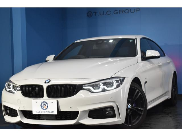 BMW 4シリーズ 420iグランクーペ Mスポーツ 後期 ヘキサゴナルLED/H&テール マルチディスプレイメーター 追従ACC 車線変更警告 インテリジェントセーフティー 18AW フルセグ ヒーター付アルカンターラシート 電動Rゲート 2年保証