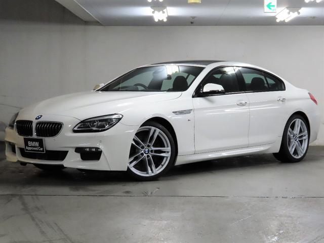 BMW 6シリーズ 640iグランクーペ Mスポーツ HI-LINE  M スポーツ  グレーウッド    ガラスサンルーフ