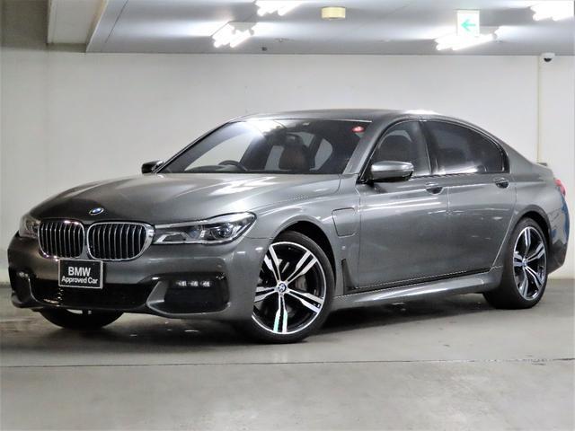 BMW 740eアイパフォーマンス Mスポーツ Msport モカ革 ACC ステアリングアシスト