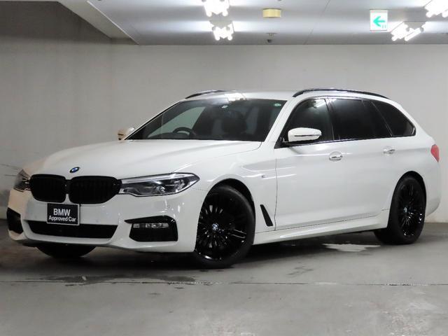 BMW 5シリーズ 523dツーリング Mスポーツ 純正19インチブラックアロイホイール ブラックキドニーグリル 黒革 ドラレコ