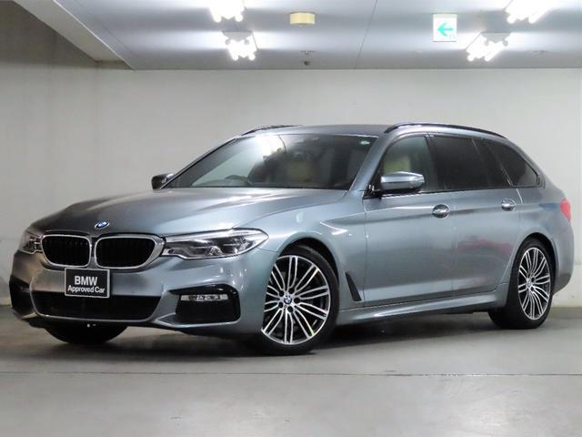 BMW 5シリーズ 523dツーリング Mスポーツ ハイラインパッケージ ベージュ革 フロント&リアシートヒーター ステアリングアシスト