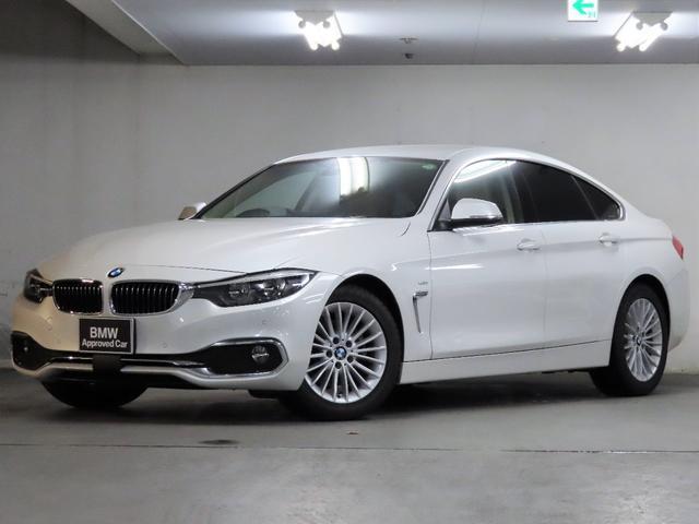 BMW 4シリーズ 420iグランクーペ ラグジュアリー Luxury ベージュ革 シートヒーター テレビチューナー 衝突被害軽減ブレーキ 車線逸脱警告 ACC 接近警告 ドライブレコーダー