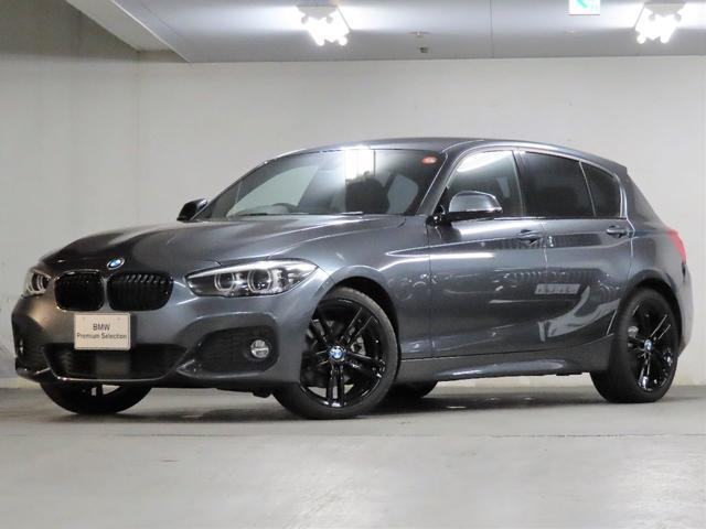 BMW 1シリーズ 118d Mスポーツ エディションシャドー EDITION SHADOW UPグレードパッケージ ブラックレザー シートヒーター 電動シート HIFIスピーカー 18インチブラックアロイホイール ブラックキドニーグリル ACC