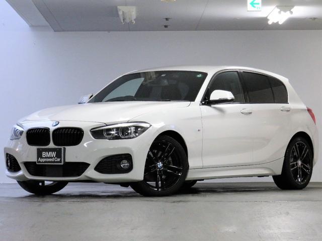 BMW 118i Mスポーツ エディションシャドー UPグレードパッケージ ブラックレザー 電動シート HIFIスピーカー ACC 衝突被害軽減ブレーキ 18インチAW黒 ブラックグリル