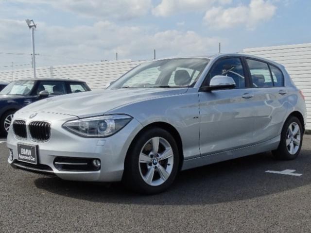 BMW 1シリーズ 116i スポーツ 正規認定中古車/電動格納ミラー/バックカメラ/CDプレイヤー/HID/アイドリングストップ/パワーウィンドウ/パワーステアリング