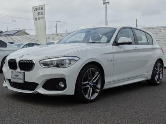 BMW 1シリーズ 118i Mスポーツ コンフォートパッケージ/正規認定中古車/Bluetooth接続可能/バックカメラ/CDプレーヤー/オートライト/ターボ/衝突安全ボディ