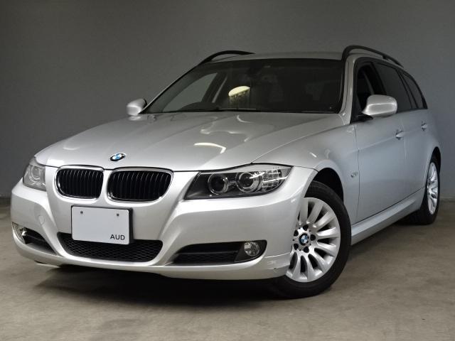 BMW 3シリーズ 320iツーリング 後期エクステリア 黒レザー シートヒーター ウッドトリム キセノンライト コンフォートアクセス 純正16インチAW 純正IドライブHDDナビ ETC Bluetooth ワンオーナー 禁煙