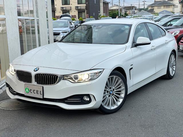 BMW 420iグランクーペ ラグジュアリー インテリジェントS 赤革シート シートヒーター 純正HDDナビ/Bカメラ コンフォートアクセス 電動テールゲート ワンオーナー