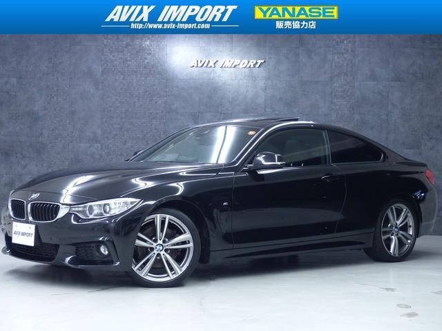BMW 428i Mスポーツ サンルーフ 黒革 インテリセーフ TV
