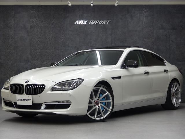 BMW 640iGC 黒革 SR VOSSEN20AW キーレスゴー