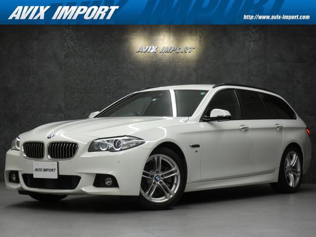 BMW 523dツーリング Mスポーツ インテリジェントセーフティ ブラックスポーツシート ナビ 地デジ Bカメラ パークディスタンス アダプティブクルーズ パワーシート ヒーター パワートランク コンフォートアクセス キセノン 18AW 直4ディーゼルターボ