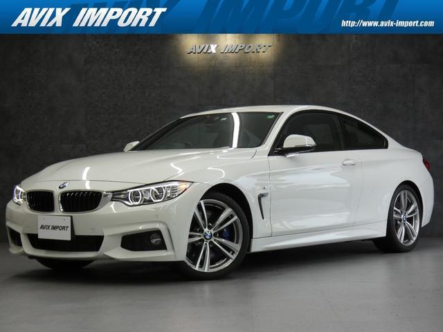 BMW 435iクーペ Mスポーツ 右H インテリセーフ 黒革 ナビ TV Bカメラ PDC パワーシート ヒーター クルーズコントロール ヘッドアップディスプレイ LEDヘッドライト 19AW
