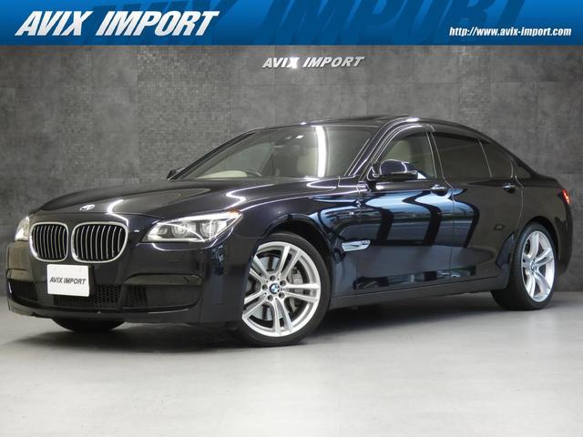 BMW 750i Mスポーツ 後期最終 1オナ ドライビングアシスト SR ベージュ革 ナビ TV Bカメラ PDC ACC HUD パワーシート ヒーター コンフォートアクセス LEDライト 19AW