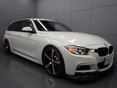 BMW320iツーリング Mスポーツ 社外サス 社外ホイール