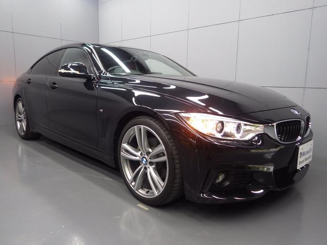 BMW 4シリーズ 420iグランクーペ Mスポーツ ダコタコーラルレッドレザーシート アクティブクルーズコントロール