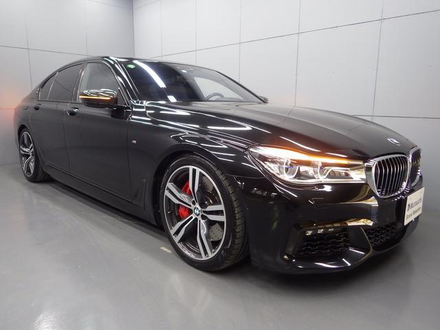 BMW 750i Mスポーツ 左ハンドル ガラスサンルーフ モカナッパレザーシート 20インチアロイホイール フルセグTV