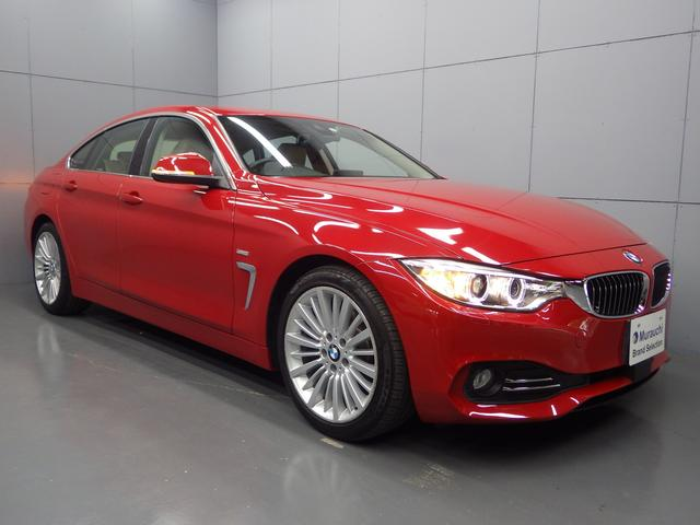 BMW 420iグランクーペ ラグジュアリー 革シート 純正HDDナビ ACC