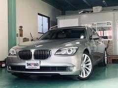 BMW750Li アイボリーレザー ブラックウッド 20インチAW