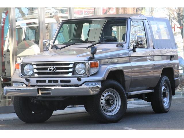 トヨタ LX 4.2D FRPトップ外し 幌改 4WD