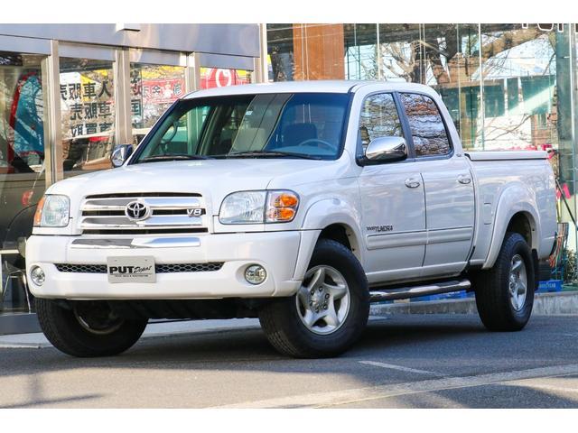 米国トヨタ タンドラ ダブルキャブ SR5 4WD 新車並行