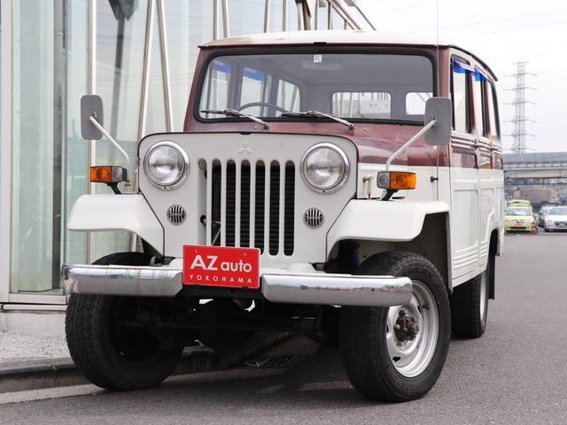 三菱 J36 ガソリン 1ナンバー登録車 フルオリジナル