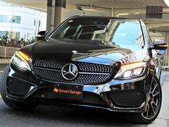 メルセデスAMGC43 4マチック ステーションワゴン 黒革 新車保証継承