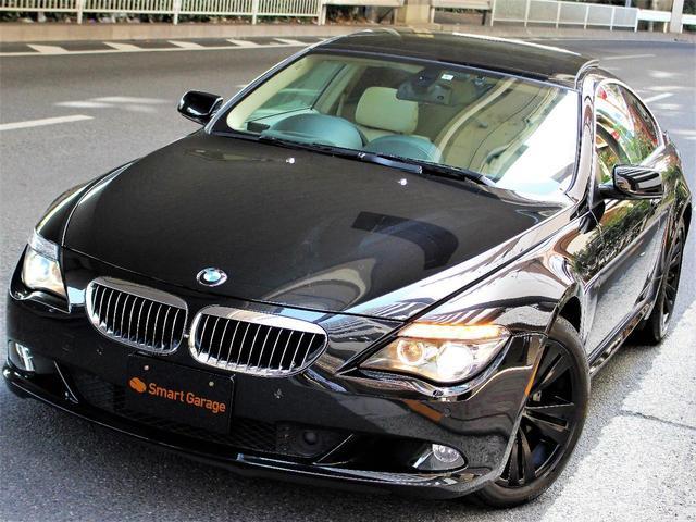BMW 650i 最終型 ベージュ革 サンルーフ Bカメラ 記録簿有