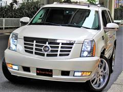 キャデラック エスカレード新車並行 社外24AW ギブソンマフラー 電動サイドステップ