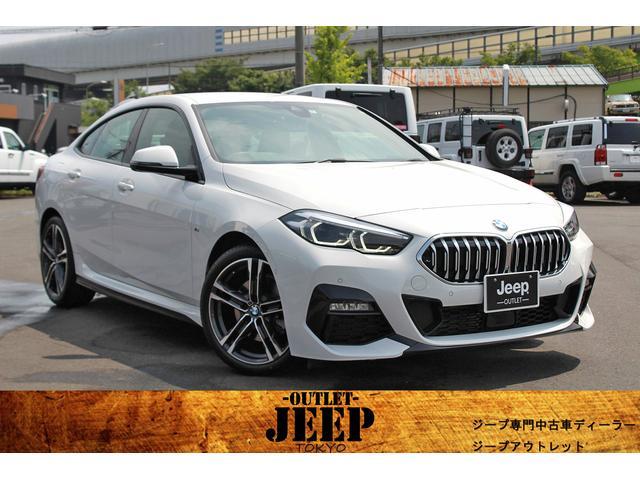BMW 218iグランクーペ Mスポーツ ワンオーナー/新車保証継承付き/ハーフレザーシート/純正ナビ/バックカメラ/パーキングアシスト/後退アシスト/Bluetooth/ETC/インテリジェントセーフティ/パワーシート/クルーズコントロール