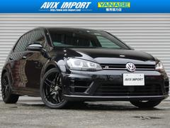 VW ゴルフR黒革 ACC 安全支援装置 SD地デジBカメ 18AW 禁煙