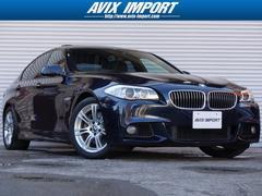 BMW535iMスポーツ SR黒革 HDD地デジ 18AW 禁煙