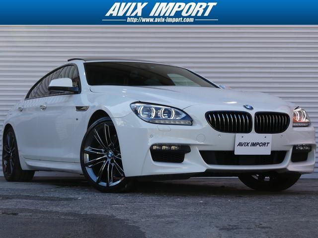 BMW 650iGCMスポーツED SR黒革 ACC 1オナ 限定車