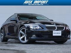 BMW650i後期型 SR黒革 純正HDDナビ 19AW 禁煙車