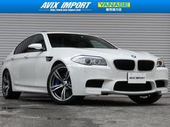 BMWM5 SR黒革 ベンチレーション HDD 鍛造20AW 禁煙