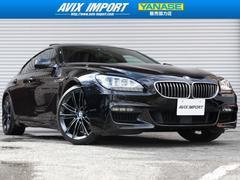 BMW650iGCMスポーツ SRアイボリー革 ACC安全支援装置