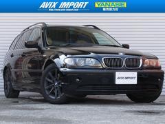 BMW325iTRGハイライン SRベージュ革 DVDナビ16AW