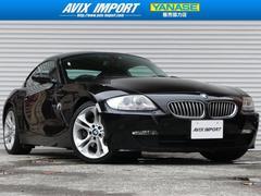 BMW Z4クーペ3.0si 黒革 純正HDDナビ 18AW ETC禁煙