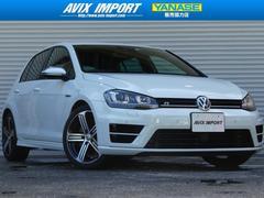 VW ゴルフR黒革 ACC 安全支援装置 SDナビ地デジ 18AW 禁煙車
