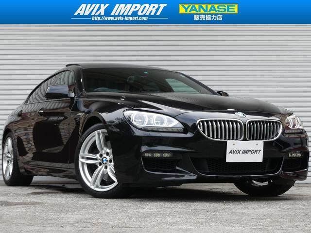 BMW 650iグランクーペMスポーツ SR黒革LED 19AW禁煙