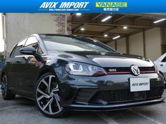 VW ゴルフGTIクラブスポーツ トラックED ACC 19AW 禁煙 限定車