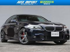BMW535iMスポーツ 黒革 HDD地デジ M6専用19AW禁煙